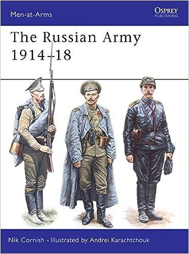 The Russian Army 1914-18 (Men-at-Arms): Amazon co uk: Nik Cornish