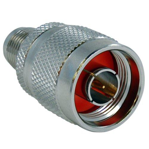 C2G/Cables to Go 42201 N-Male to RP-TNC Female Wi-Fi Adapter, Silver