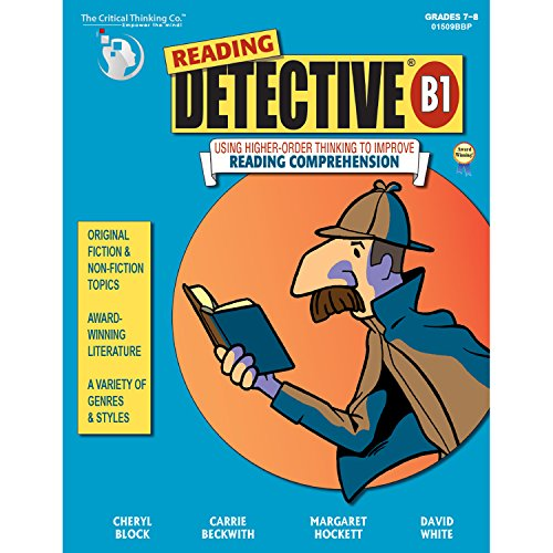 The Critical Thinking Reading Detective Book B School Workbook -
