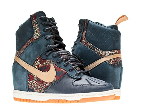 best website f380a 32f78 Nike Dunk Sky Hi Liberty QS Womens Wedge Sneakerboot 632180-402 Armory Navy  7.5 M US - Buy Online in UAE.   Apparel Products in the UAE - See Prices,  ...
