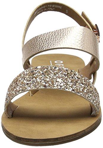 Sandals Honey Rose Office Open Women's Gold Toe Pink pSgZIznqZ