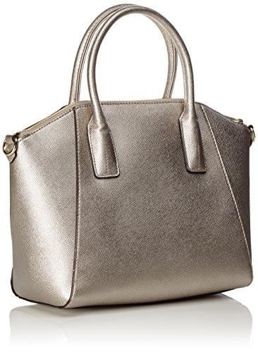 Guess Woman Sil Silver Bag Hand silver wPqvxZAw