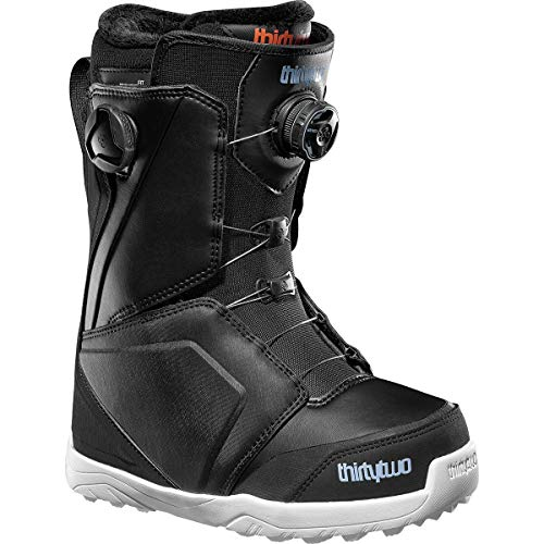 thirtytwo Women's Lashed Double Boa '18 Snowboard Boots, Size 9, Black/Blue/White