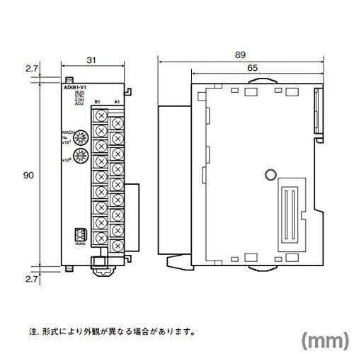 OMRON CJ1W-DA041 Analog Output Unit (4Outputs) NN by Omron (Image #1)