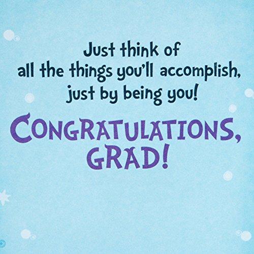 Hallmark Graduation Greeting Card (Dr. Seuss Oh, The Places You'll Go) Photo #5