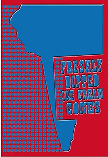 Freshly Dipped Ice Cream Cones 12x18 Giclee On Canvas