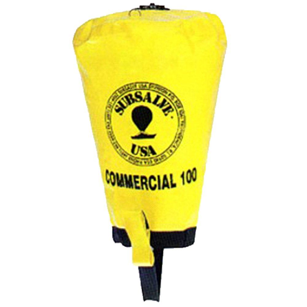 JCS Subsalve USA Commercial Lift Bag with Dump Valve, 100 LB Capacity