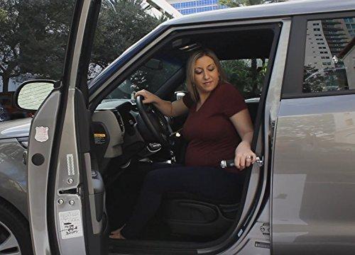 Con taglia cinture Pu/ò essere in qualsiasi gancio portiera della macchina interruttore finestra e torci Manutenzione e sostegno alle persone anziane e fisicamente disabili Magic Car Buddy compagno di entrata e di uscita degli aiuti per lauto