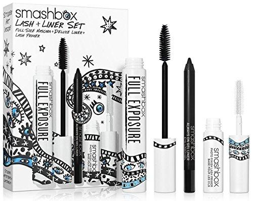 Smashbox Lash Liner Set Full Size Mascara Deluxe Liner Lash Primer