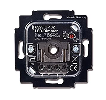 Busch Jager Led Dimmer Drehdimmer 6523 U 102 6523u 102 Up