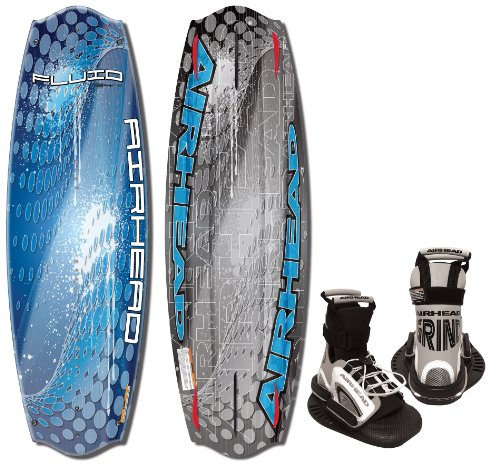 AIRHEAD AHW-4026 Fluid Wakeboard with Grind Bindings
