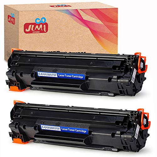 JIMIGO 2 Black 137 Compatible Toner Cartridges replacement for Canon 137 toner, for Canon imageCLASS MF216n MF227dw MF229dw MF247dw MF236n MF249dw MF244dw LBP151dw MF217W MF212w D570 MF232w MF211