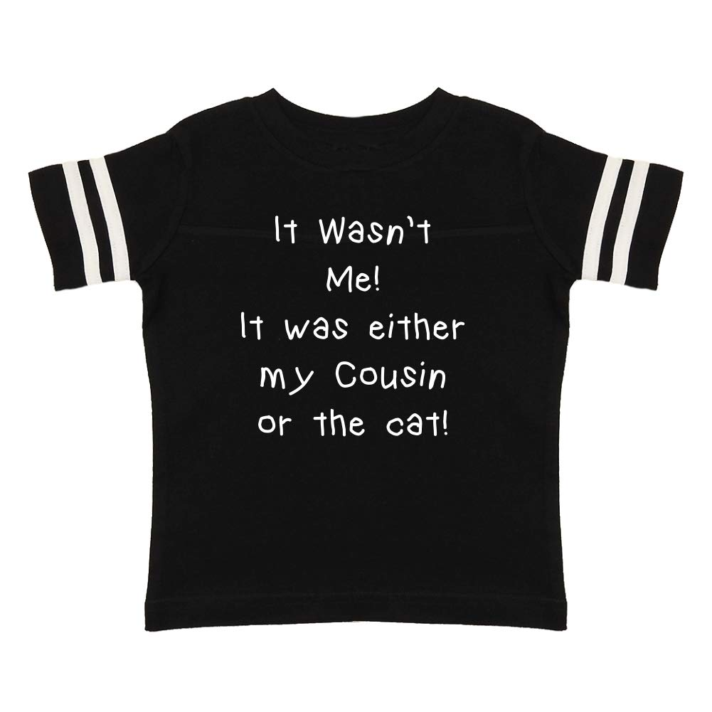 It was Either My Cousin Or The Cat It Wasnt Me Toddler//Kids Sporty T-Shirt
