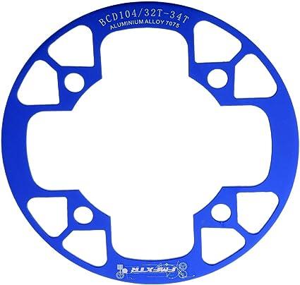 Baoblaze Funda Protectora de Platos de Bicicleta, Súper Protección ...