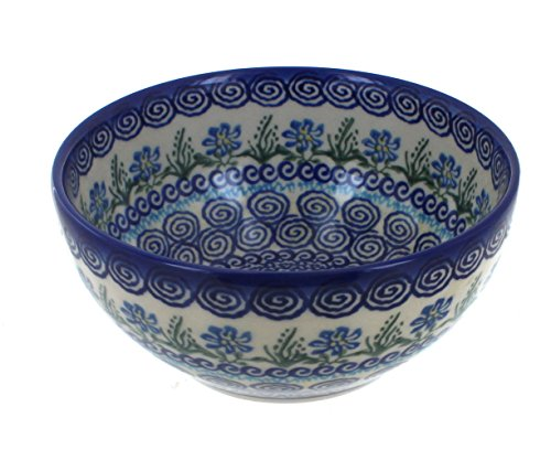Blue Rose Polish Pottery Charleston Cereal Bowl
