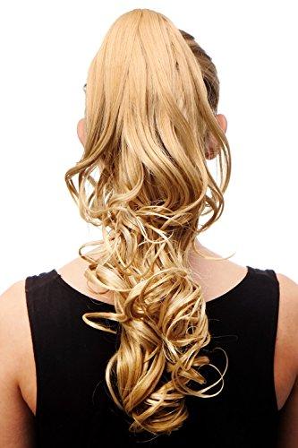 Haarteil/Zopf, blond, gelockt C-128-611B ca. 45 cm