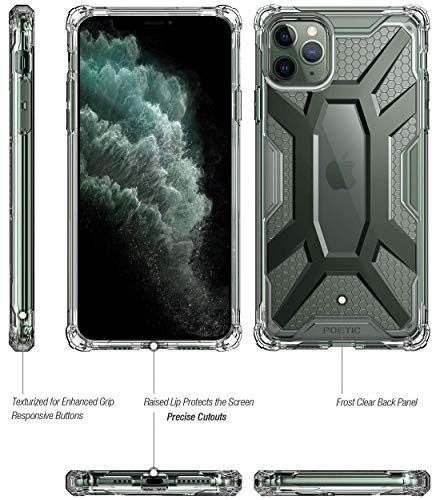 Poetic iPhone 11 Pro Max Case, Premium Hybrid Protective Clear Bumper Cover, Rugged Lightweight, Mil - http://medicalbooks.filipinodoctors.org