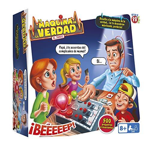 Juego de Mesa Familiar y para Ninos La Maquina de la Verdad de Play Fun - IMC Toys