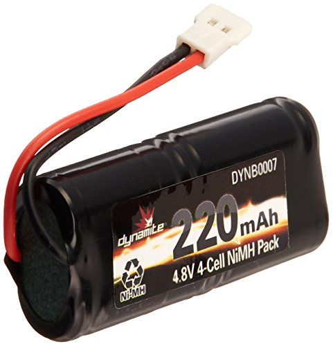 Dynamite 4.8V 220mAh 2/3AAANiMH 4C Flat: Micro SCT Rally Battery - http://coolthings.us
