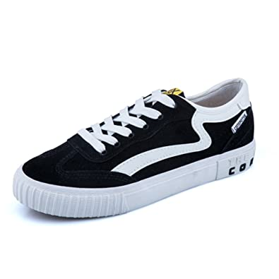 a12182dd2097b Amazon.com | AGoGo Women's Fashion Sneakers Casual Canvas Shoes 5 ...