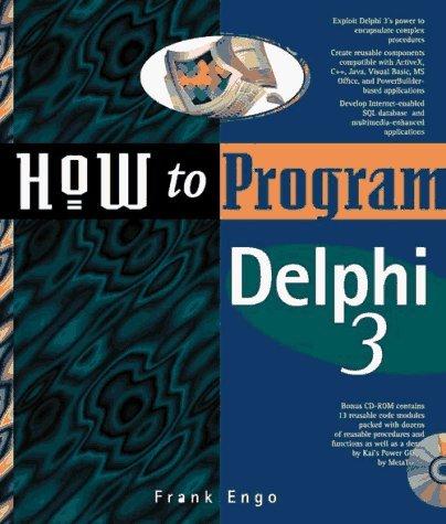 How to Program Delphi by Frank Engo (1997-03-06) by Ziff Davis
