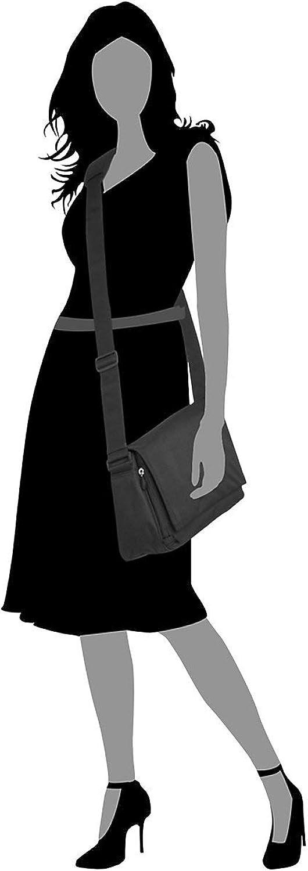 Picard Hitec, Sacs bandoulière Femme, Noir, 31x21x11 cm (B x H x T) Noir (Noir).