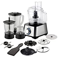 Brabantia BBEK1113 Food Processor, 1000 W, Brushed Stainless Steel