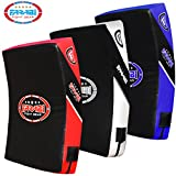 Farabi Quad Boxing MMA Muay Thai Martial Arts Hook & Jab Punch Kick Pads MMA Target Focus Punching Mitts Thai Strike Training Kick Shield Kicking Target mitt Kick Strike pad