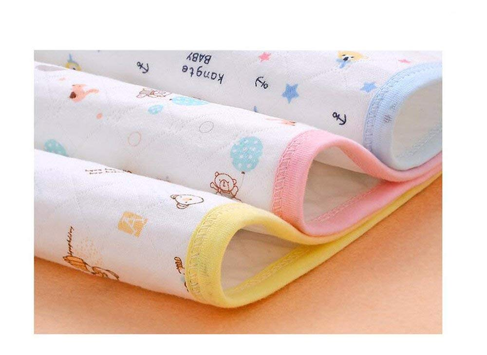Back Packers Diaper Changing Pad 3 pcs Ecological Cotton Breathable Multi-Function Waterproof Changing Pads Washable Resuable Diapers Liners Mat CN