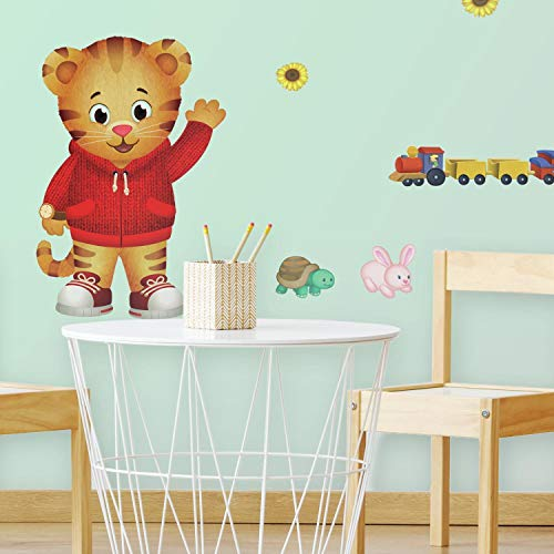 RoomMates Daniel Tiger Peel And Stick Giant Wall -