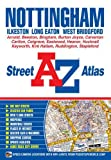 Front cover for the book A-Z Street Atlas of Nottingham by Geographers' A-Z Map Company Ltd