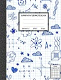 #7: Graph Paper Notebook, Quad Ruled 5 squares per inch: Math and Science Composition Notebook for Students (Notebooks For Students)