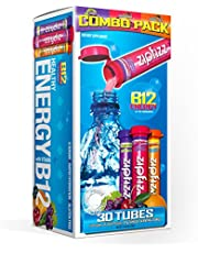 Zipfizz Healthy Energy Drink Mix, Hydration with B12 and Multi Vitamins, Variety Pack, 30 Count, 0.38 Ounce (Pack of 30)