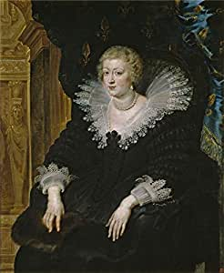 'Rubens Peter Paul Ana de Austria reina de Francia Ca. 1622 ' oil painting, 20 x 24 inch / 51 x 62 cm ,printed on high quality polyster Canvas ,this High Resolution Art Decorative Prints on Canvas is perfectly suitalbe for Home Office artwork and Home gallery art and Gifts