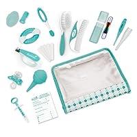 Kit completo de cuidado infantil de verano, verde azulado /blanco