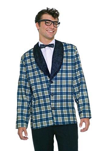 UHC Men's Good Buddy Rock & Roll Jacket w/Tie Halloween Fancy Costume, OS