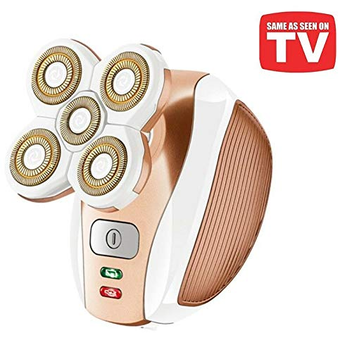 Painless Hair Shaver for Women - Electric Lady Razor Epilator Trimmer for Leg Face Lips Body Underarms Armpit Bikini Area - Rechargeable Female Hair Removal - As Seen On TV (Best Electric Shaver For Thick Hair)