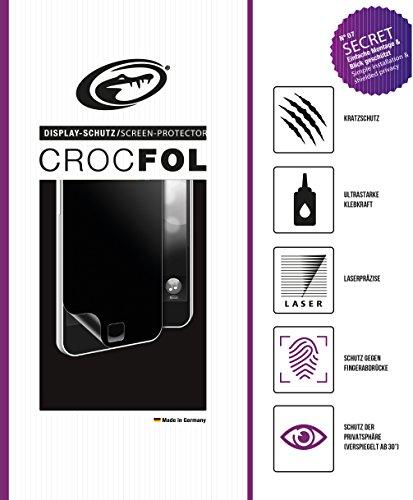 CROCFOL SECRET 5K HD Schutzfolie für das i-INN Smartlet. Schutz der Privatsphäre (PRIVACY-COATING) und Schutz gegen Fingerabdrücke (ANTI-FINGERPRINT), sowie Stoßabweisend (SHOCK-PROOF). 3D Touch Folie für das Original i-INN Smartlet. Hergestellt in Deutschland.