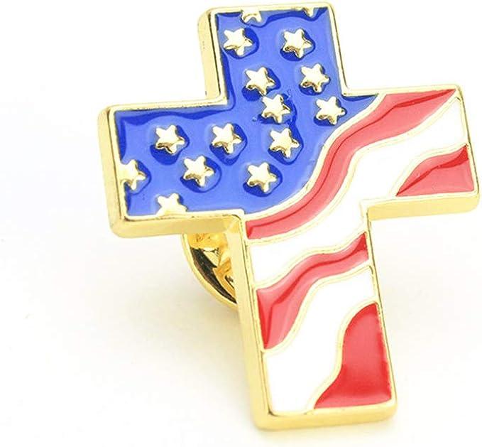 1pc Drapeau américain États Unis patriotique conception