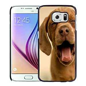 Beautiful Designed Case For Samsung Galaxy S6 Phone Case With Yawning Dog Phone Case Cover