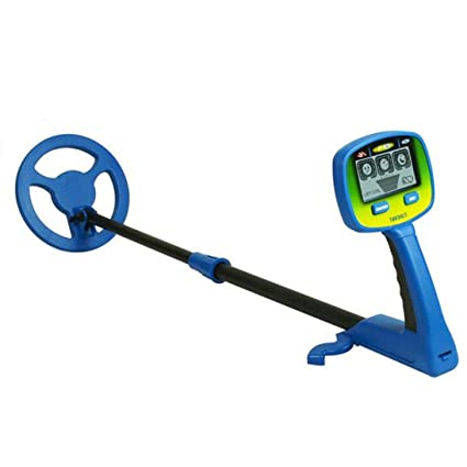 Amazon.com: Baynne Metal Detector,Hunter Metal Detector VLF 7 Coil Elf Junior Gold Locator Hunt Treasure: Sports & Outdoors