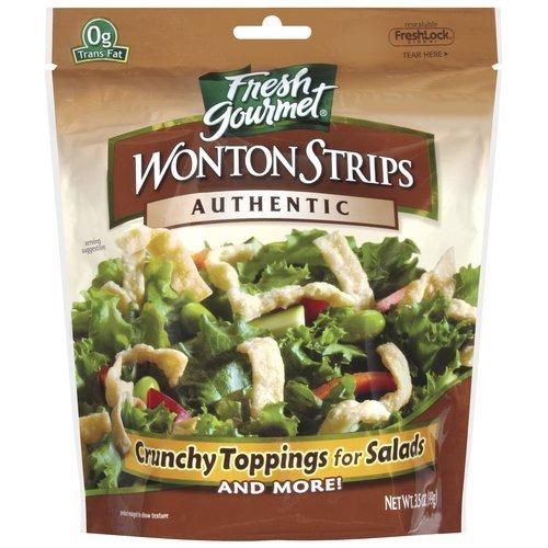 Fresh Gourmet Wonton Strip, Original, 3.5 oz