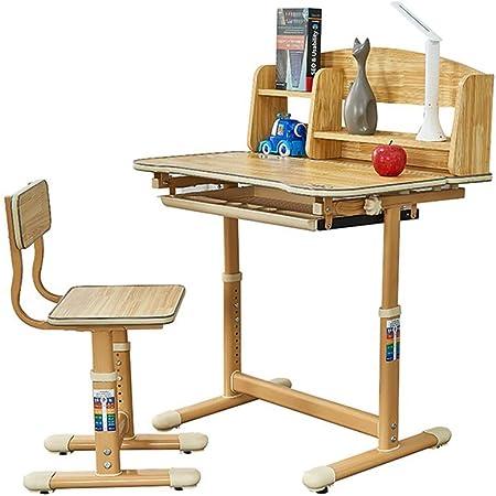 Escritorio para Niños Mesa giratoria y silla Mesa de estudio para niños Silla de mesa para