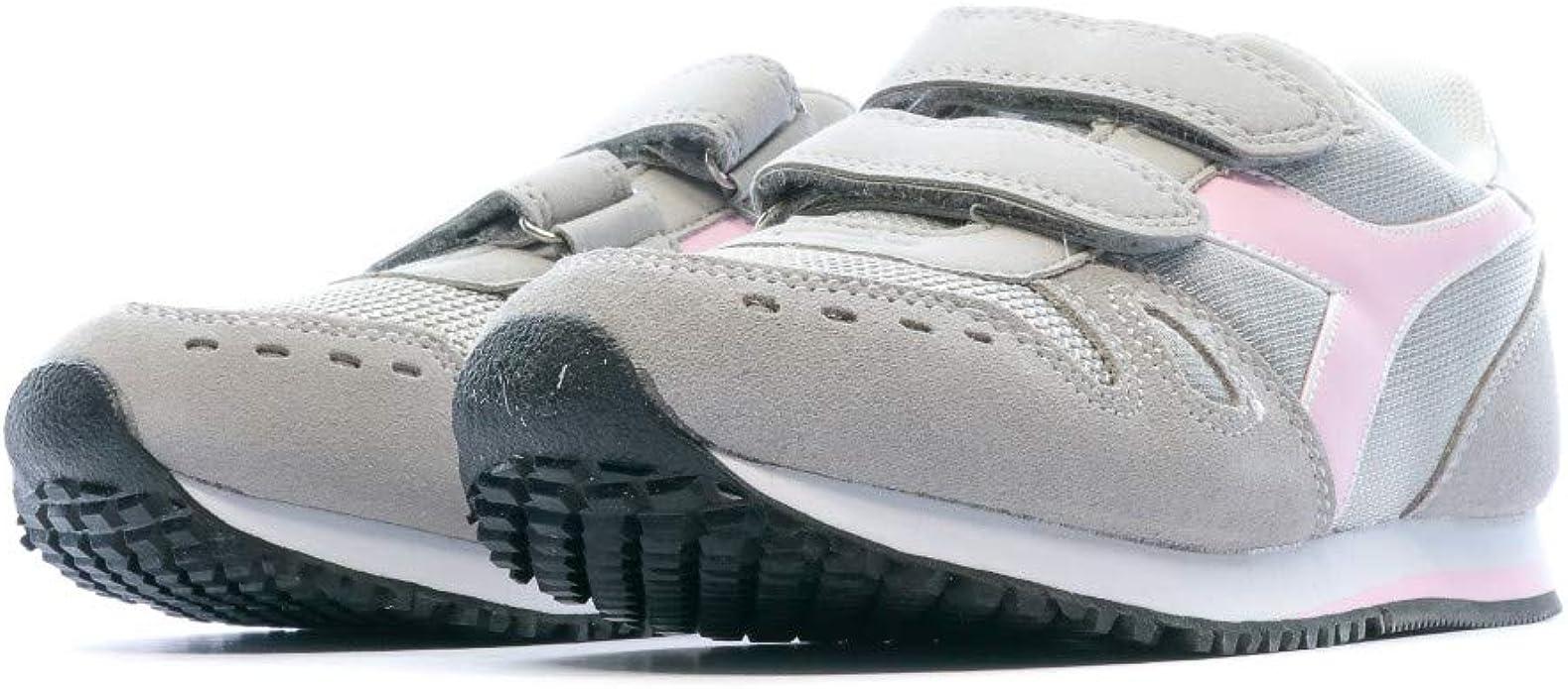 Diadora Simple Run PS, Scarpe da Ginnastica Bambina, Grey Alaska 174383