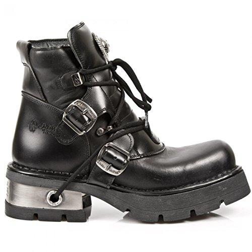 New Rock Boots M.988-s1 Gotico Hardrock Punk Unisex Stiefelette Schwarz