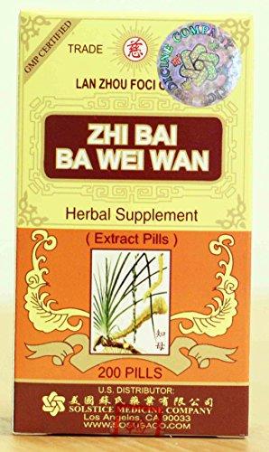 Cheap Solstice Zhi Bai Ba Wei Wan (200 Pills)