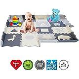 Soft Foam Baby Play Mat - Interlocking Floor Tiles, Extra...