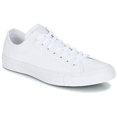 55f155cd42335e Converse Men s 1u647 Sneakers White  Amazon.co.uk  Shoes   Bags
