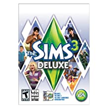 Sims 3 Deluxe with Ambitions Expansion - Standard Edition