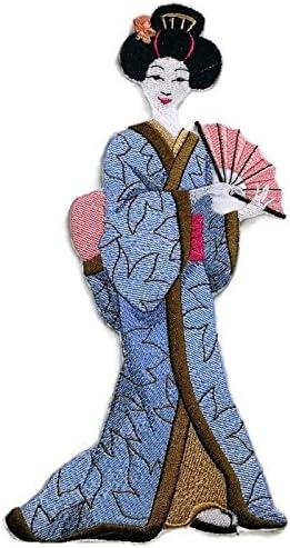 Amazing Custom Geisha retratos [Geisha con ventilador] [Rico ...
